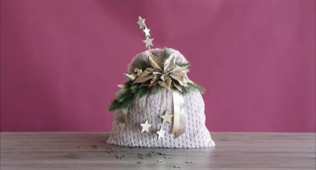 Come realizzare una confezione natalizia-VIDEO-