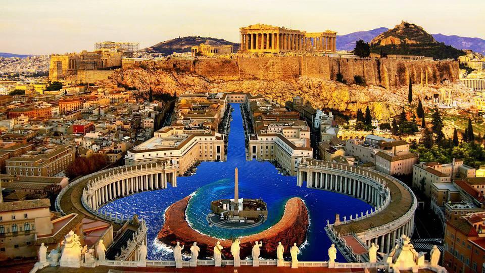 Atene: natale al caldo