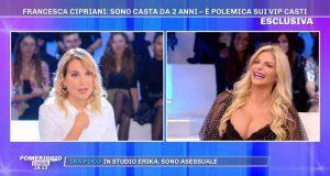 Barbara d'Urso e Francesca Cipriani a Pomeriggio 5