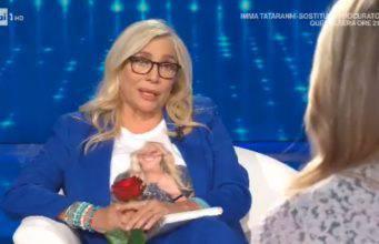 """Mara Venier spiazza Elena Santarelli: """"Devo chiarire una cosa"""""""