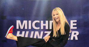 Michelle Hunziker alla finale di Amici Celebrities