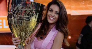 Pamela Camassa con la coppa