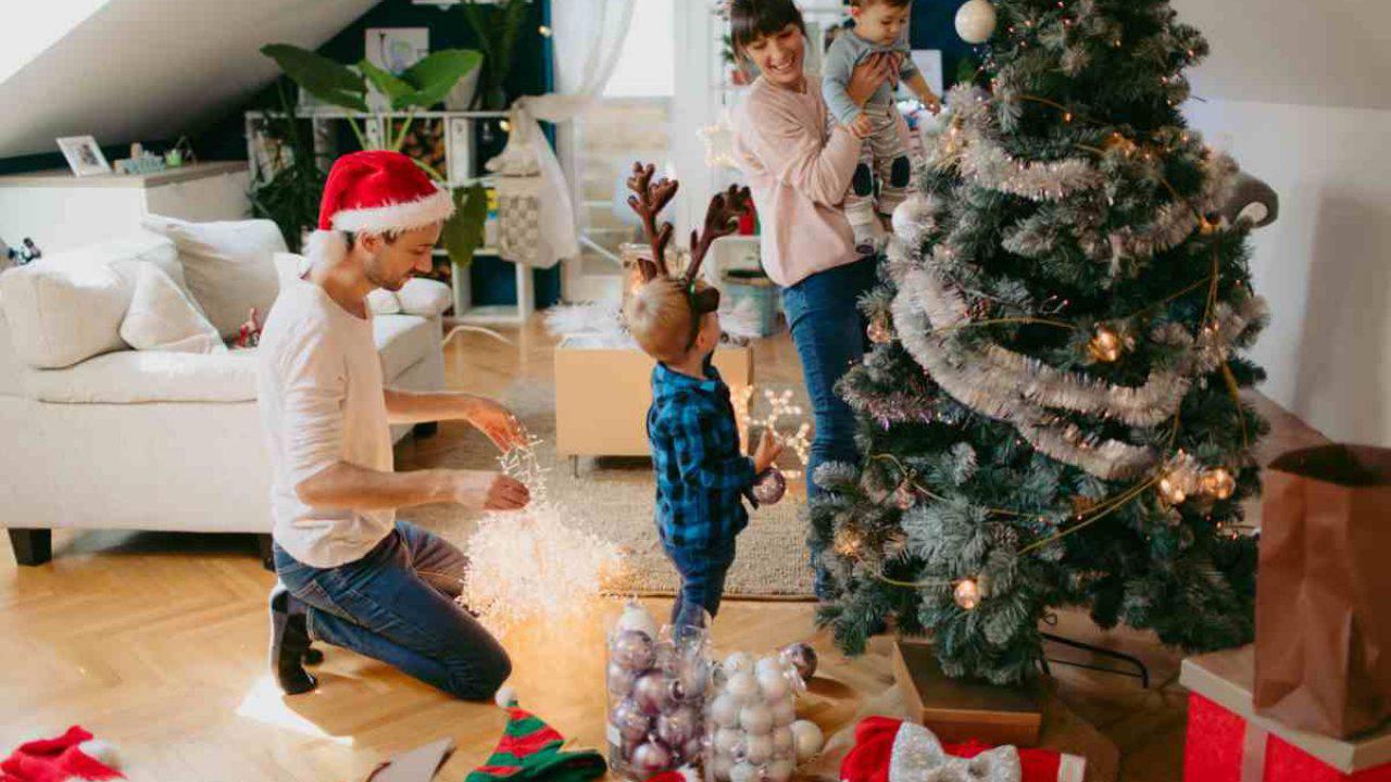 Palline Di Natale Con Rametti come addobbare l'albero di natale: segui i consigli
