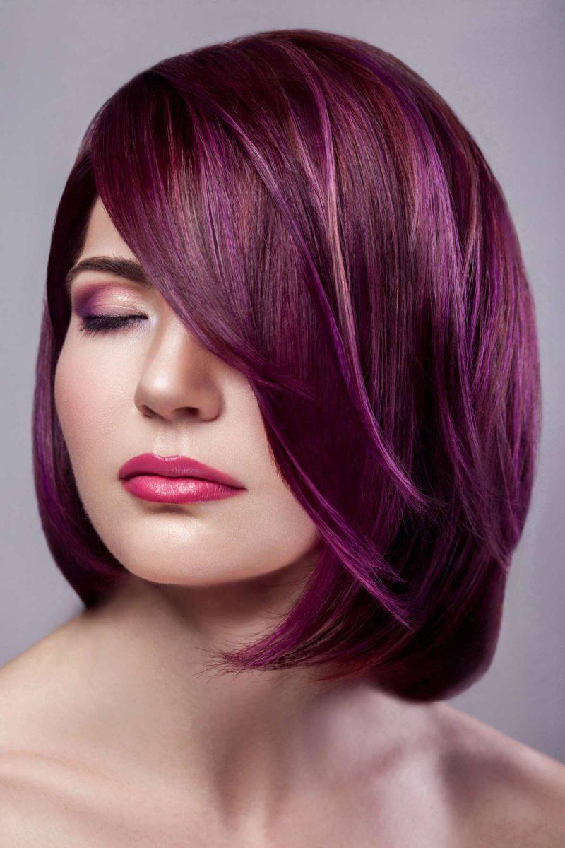 Come Creare Il Viola capelli: il colore top dell'autunno-inverno 2019/20? il viola!