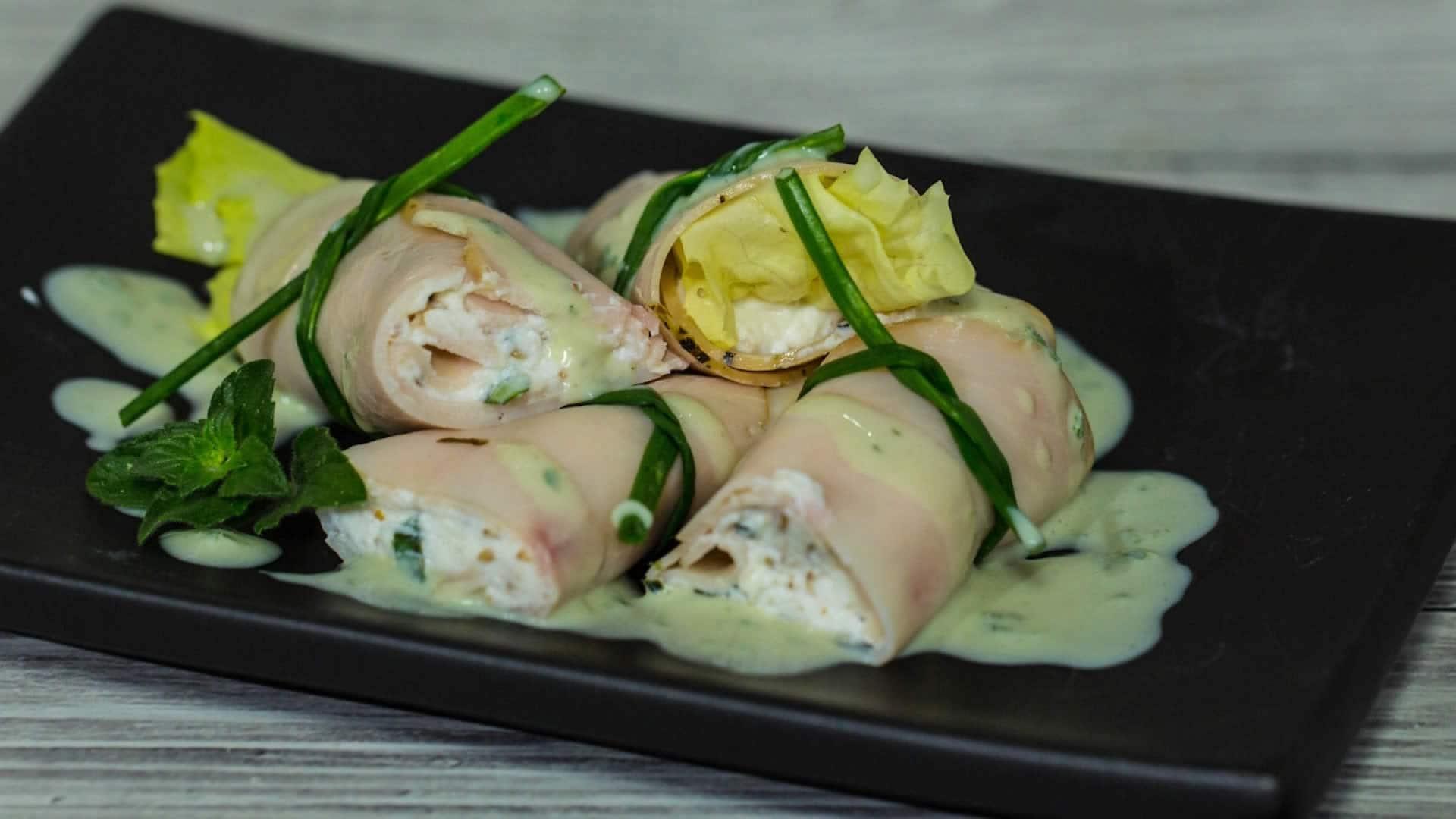 Cucina sana: involtini di tacchino e ricotta -VIDEO-