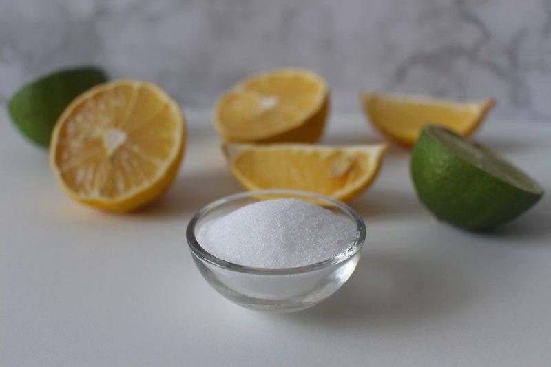Limone e bicarbonato, gli effetti benefici della loro combinazione
