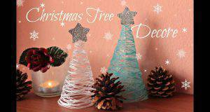 DIY: Alberi di Natale con il cotone