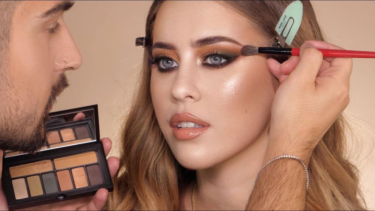 autumn desert makeup