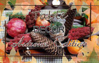 Diy: centro tavola autunnale naturale-VIDEO-