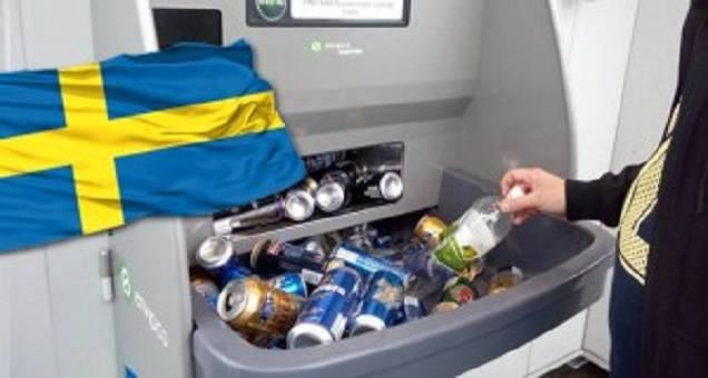 La Svezia ricicla