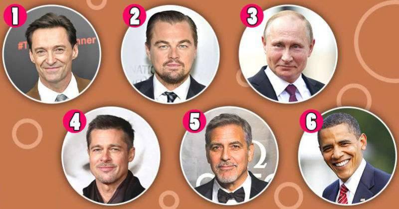 Test: la celebrità che scegli rivela tratti della tua personalità