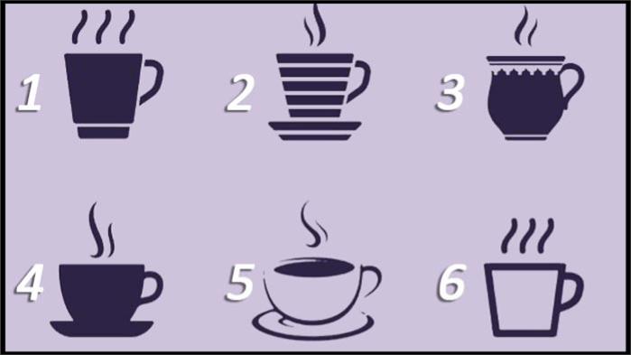 Test psicometrico: scegli una tazzina e scopri cosa rivela di te