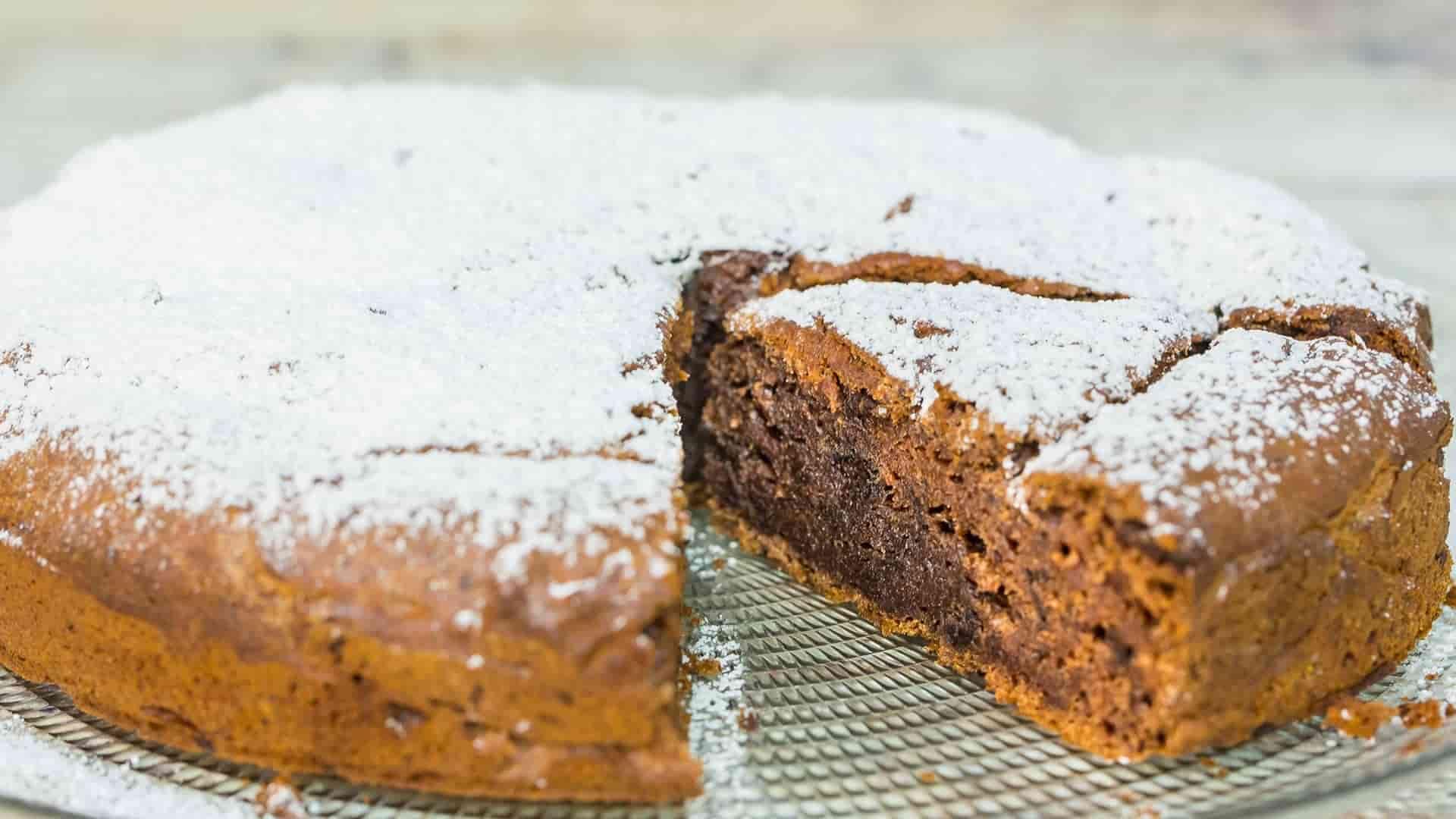 Cucina sana: torta cioccolato e cachi-VIDEO-