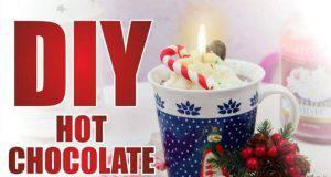 Regali di Natale fai da te: hot chocolate candle -VIDEO-