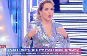 """Barbara d'Urso si arrabbia con Paolo Brosio a Live: """"Vattene a casa!"""""""