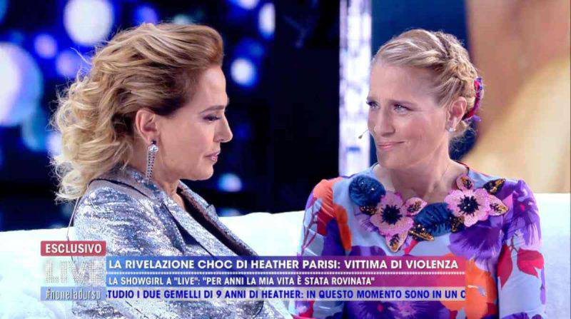 Barbara d'Urso e Heather Parisi insieme