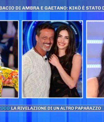 Barbara d'Urso e Giulia Napolitano collegamento