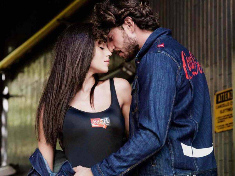 Cecilia e Ignazio in jeans