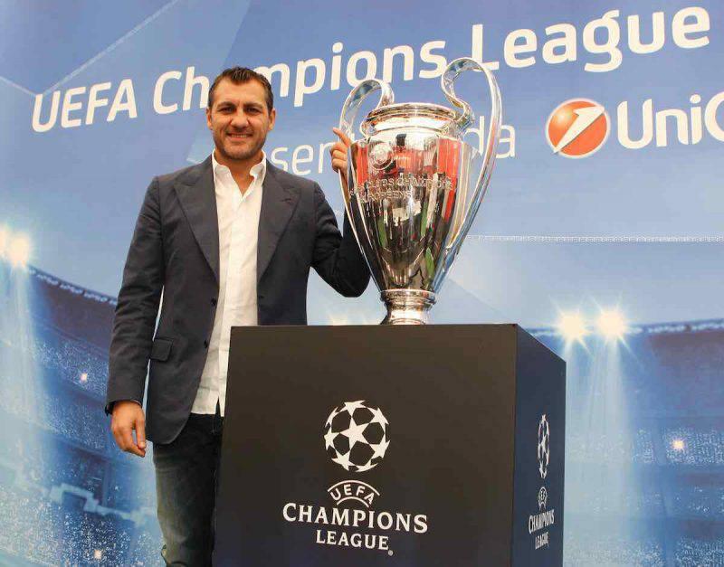 L'ex calciatore Christian Vieri felice con Costanza Caracciolo