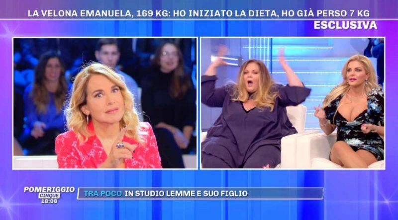 Francesca Cipriani a Pomeriggio 5