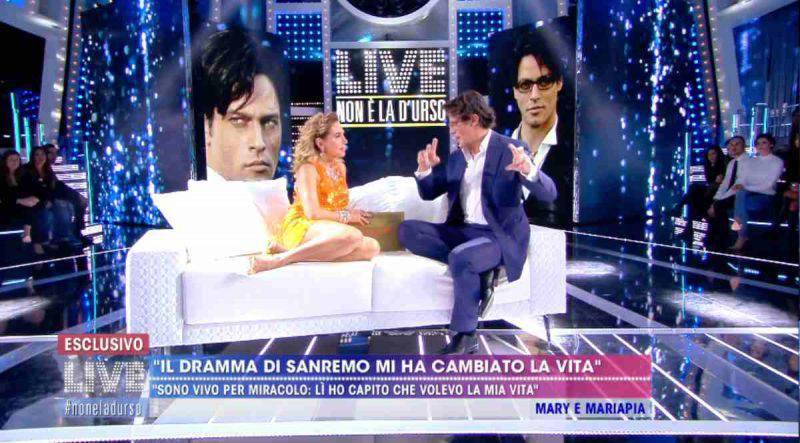 Gabrielo Garko ospite a canale 5