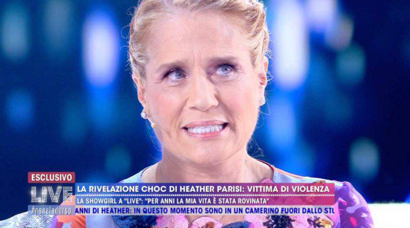 Heather Parisi primo piano