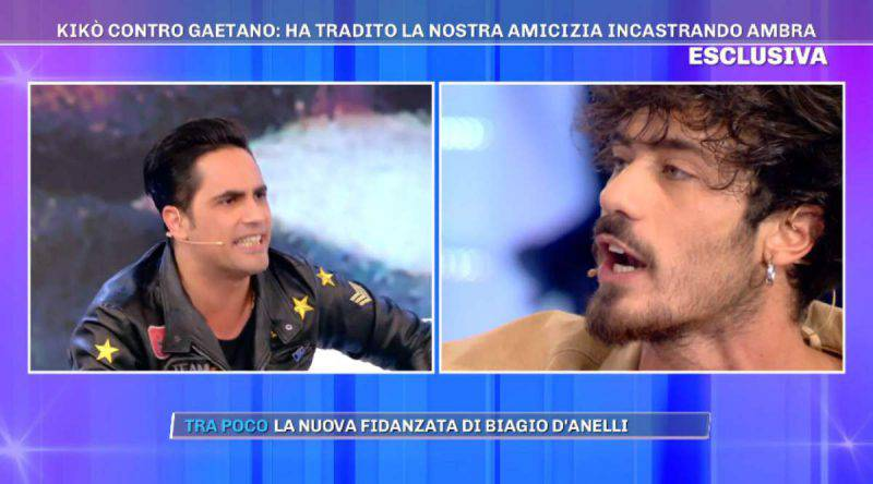 lite tra Biagio e Gaetano