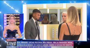 Confronto tra Lucas Peracchi, Eva e Mercedesz Henger