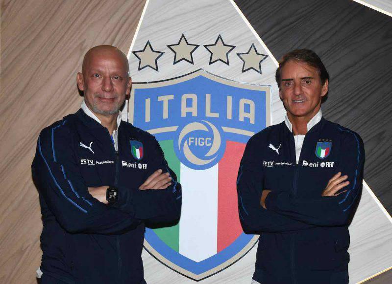 Mancini e Vialli in Nazionale