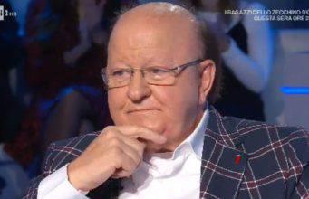 Massimo Boldi piange a Domenica In: il ricordo di sua moglie Marisa