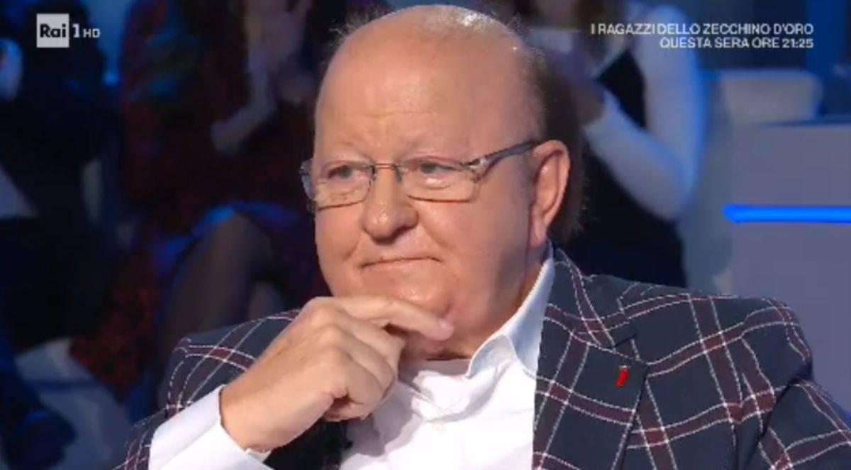 Massimo Boldi choc su Paolo Conticini  e Veera Kinnunen