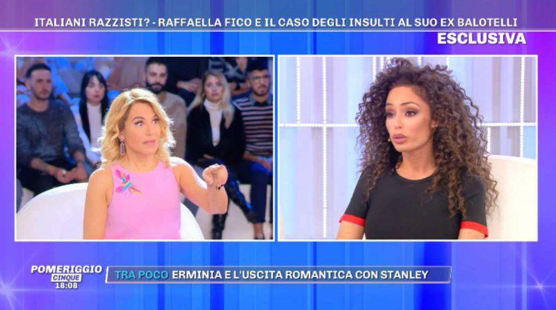 Barbara d'Urso intervista Raffaella Fico