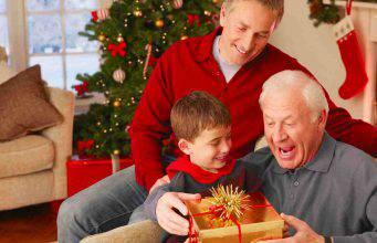 Idee regalo di Natale per i nonni