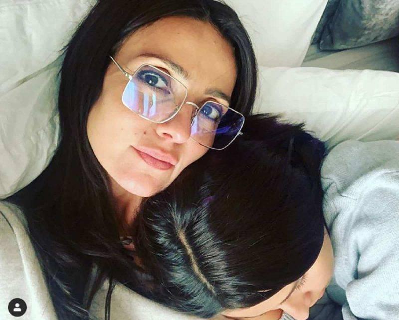 ambra angiolini e la figlia jolanda renga