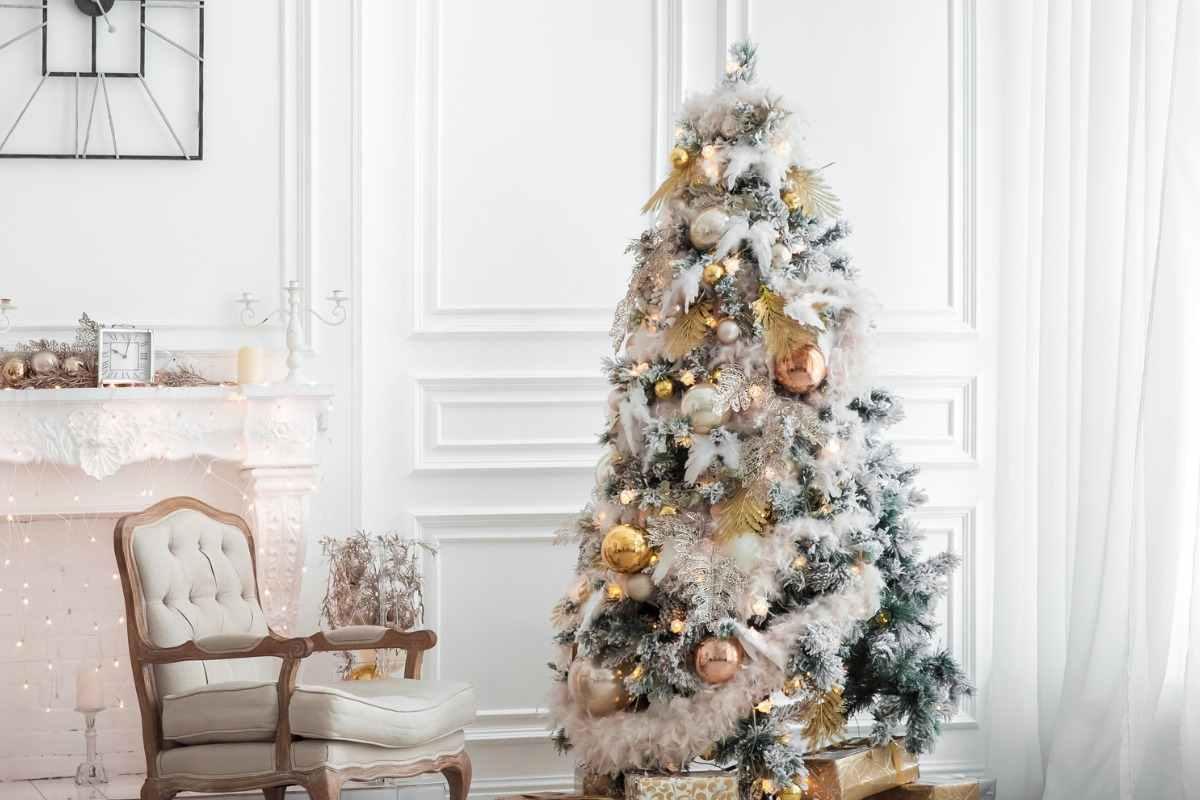 Foto Alberi Di Natale Bianchi albero di natale bianco | tutti i suggerimenti per abbellirlo