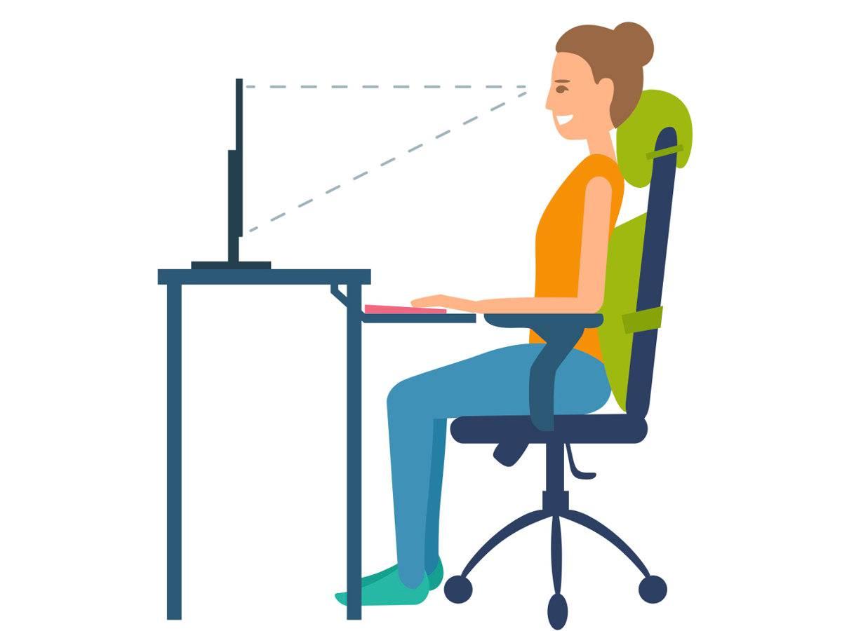 fitness da scrivania