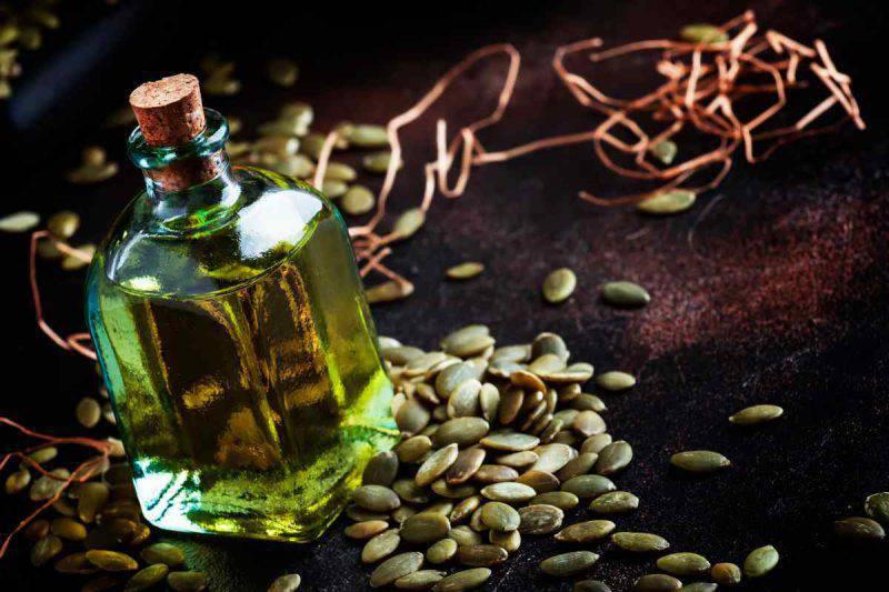 olio semi di zucca
