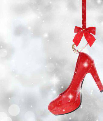 scarpe rosse natale modelli abbinamenti