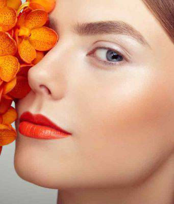 Arancione, il colore del makeup invernale