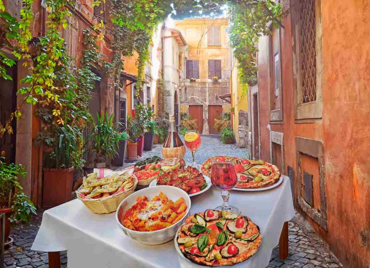 Il men romano dall 39 antipasto al dolce le ricette della cucina romana for Cucina tipica romana ricette