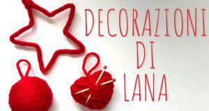 Natale fai da te: decorazioni in lana