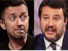 Scanzi-Salvini scontro fra titani mediatici