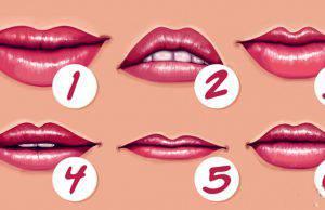 Test personalità | La forma delle tue labbra rivela chi sei veramente