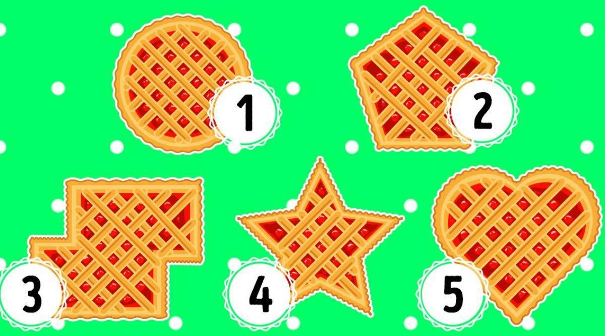 Test psicologico: scegli un waffle e scopri cosa rivela di te