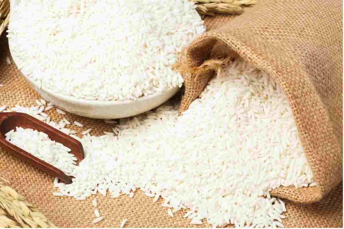 Amido di riso per la cura della pelle
