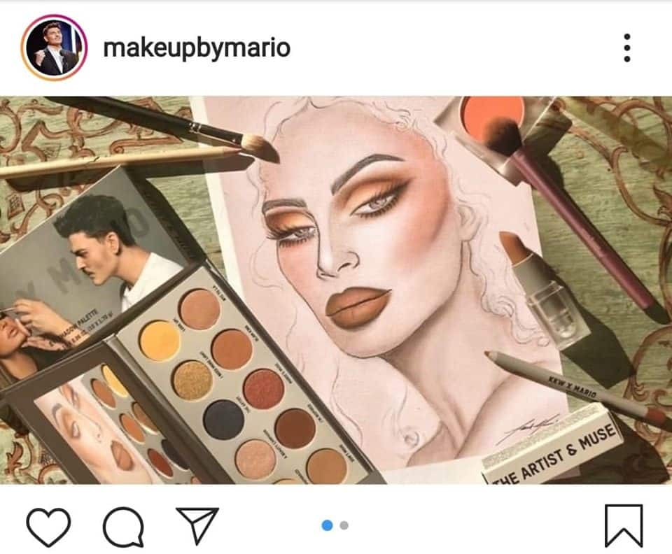 Makeup by mario Instagram