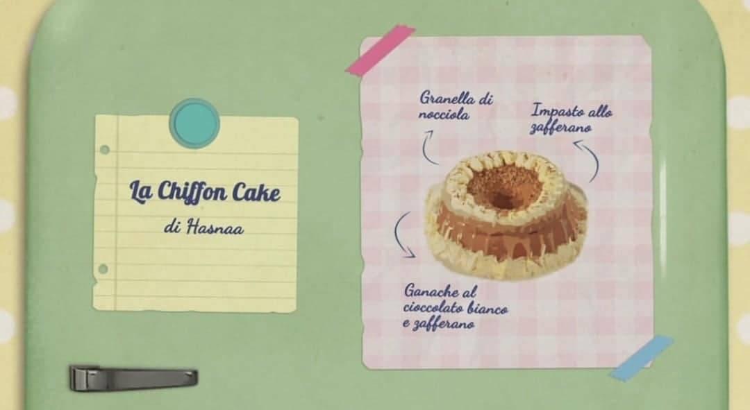 Bake Off Italia |Chiffon Cake di Hasnaa