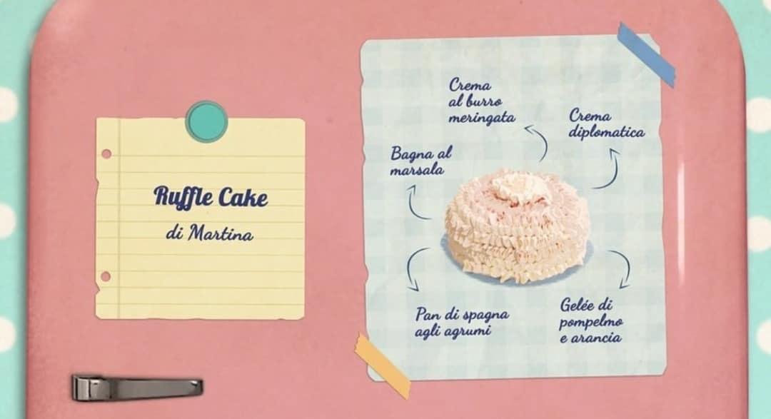 Bake Off Italia | ruffle cake di martina