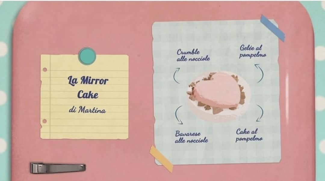 Bake Off Italia | La ricetta della Mirror Cake di Martina