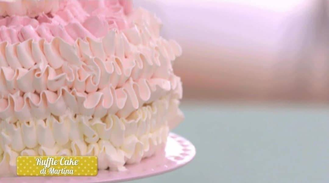 Bake Off Italia Ruffle cake